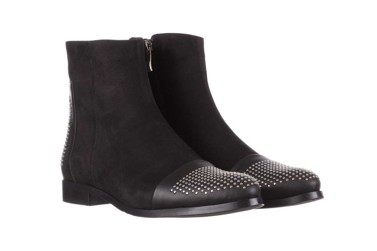 Botki bayla-188 013 czarny, skóra naturalna - sztyblety - botki - buty damskie - kobieta 9