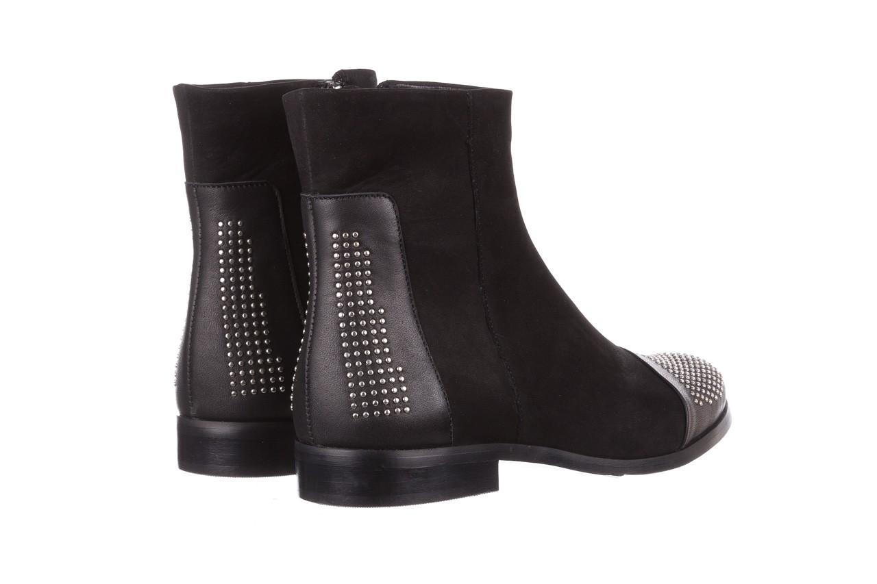 Botki bayla-188 013 czarny, skóra naturalna - sztyblety - botki - buty damskie - kobieta 11