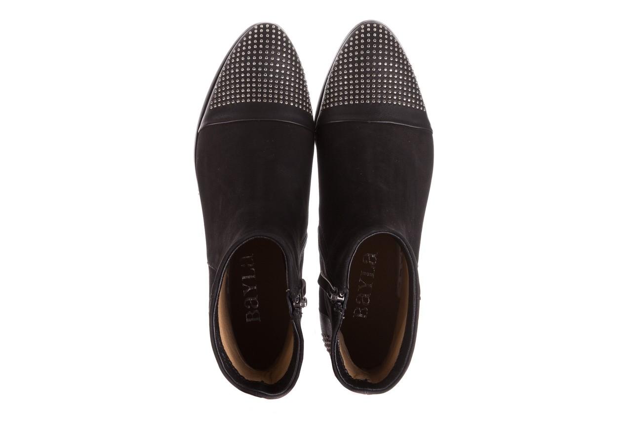 Botki bayla-188 013 czarny, skóra naturalna - sztyblety - botki - buty damskie - kobieta 12
