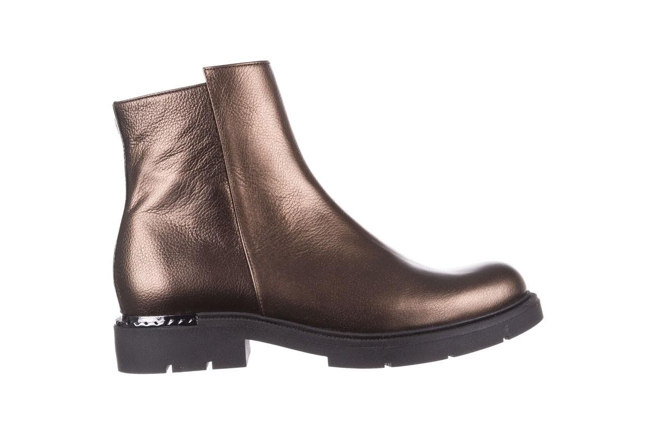 Trzewiki bayla-188 022 groszek brąz, skóra naturalna - trzewiki - buty damskie - kobieta 9