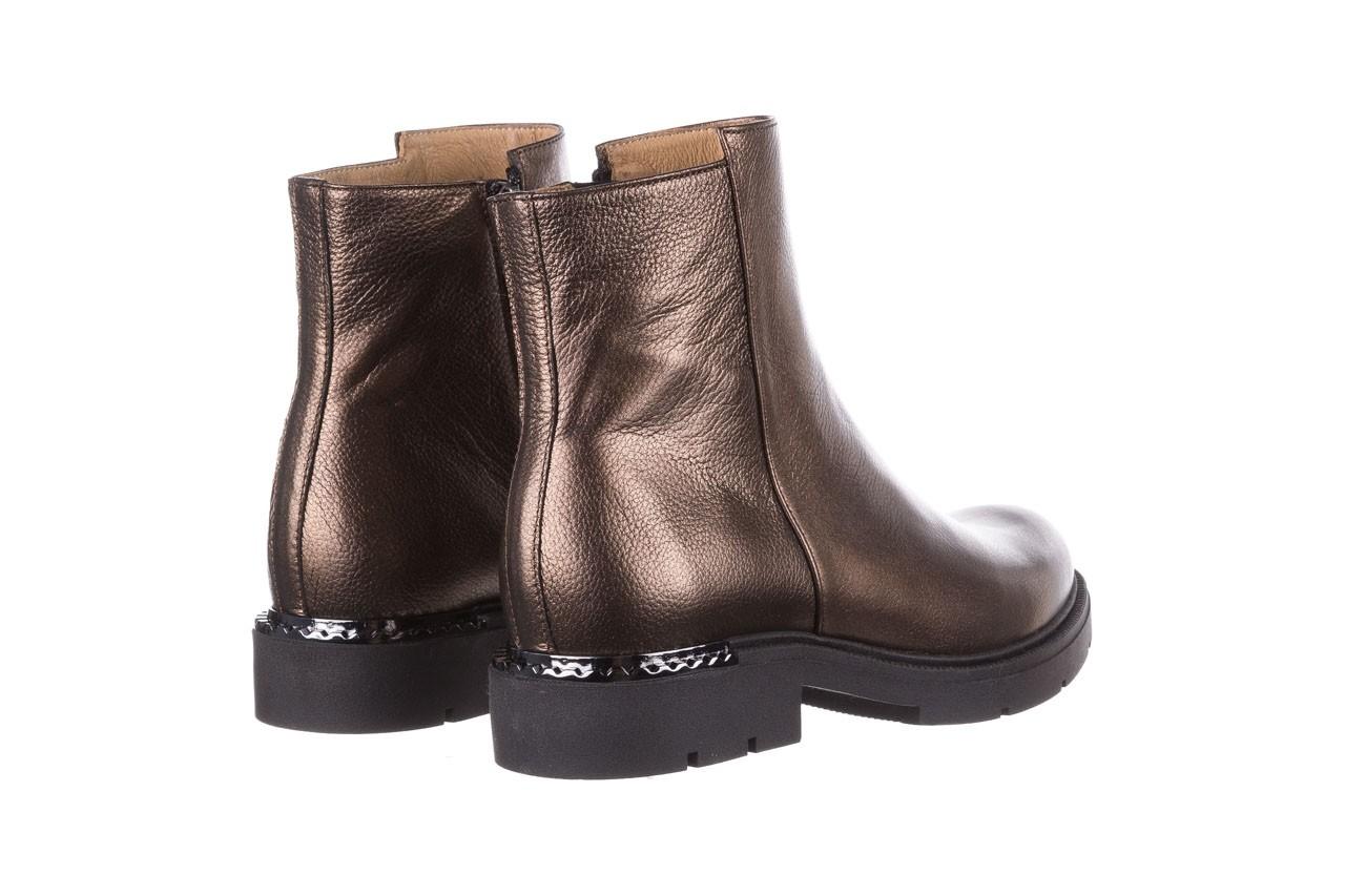 Trzewiki bayla-188 022 groszek brąz, skóra naturalna - trzewiki - buty damskie - kobieta 13