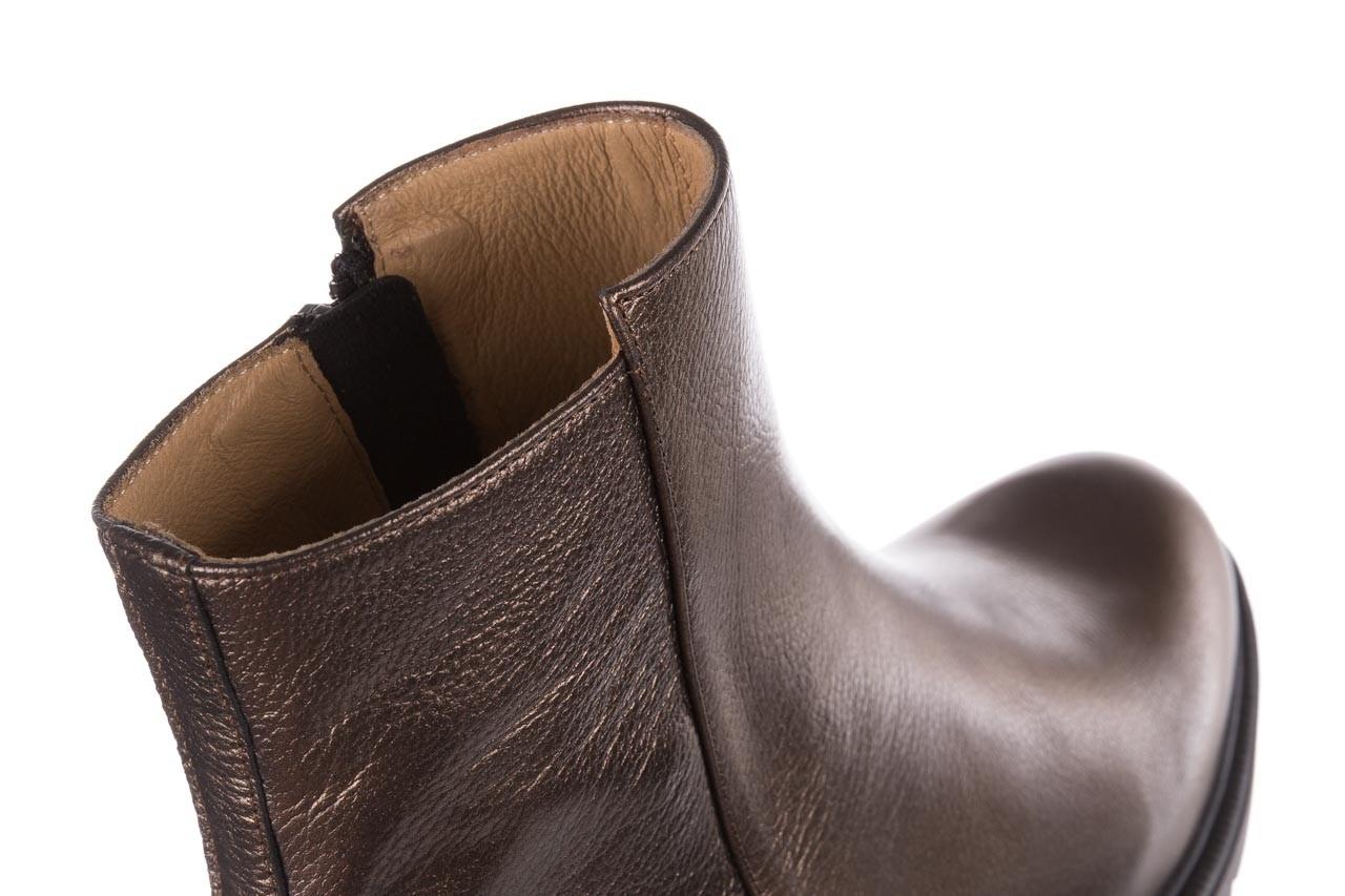 Trzewiki bayla-188 022 groszek brąz, skóra naturalna - trzewiki - buty damskie - kobieta 15
