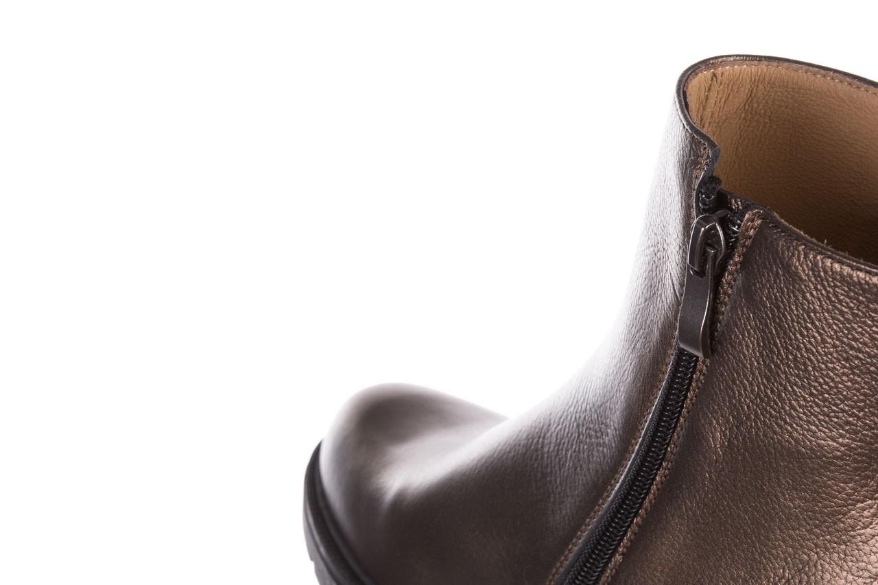 Trzewiki bayla-188 022 groszek brąz, skóra naturalna - trzewiki - buty damskie - kobieta 16