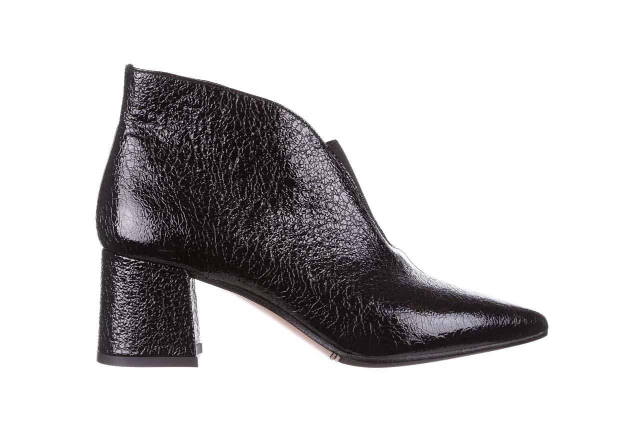 Botki bayla-188 031 czarny, skóra naturalna lakierowana - skórzane - botki - buty damskie - kobieta 9