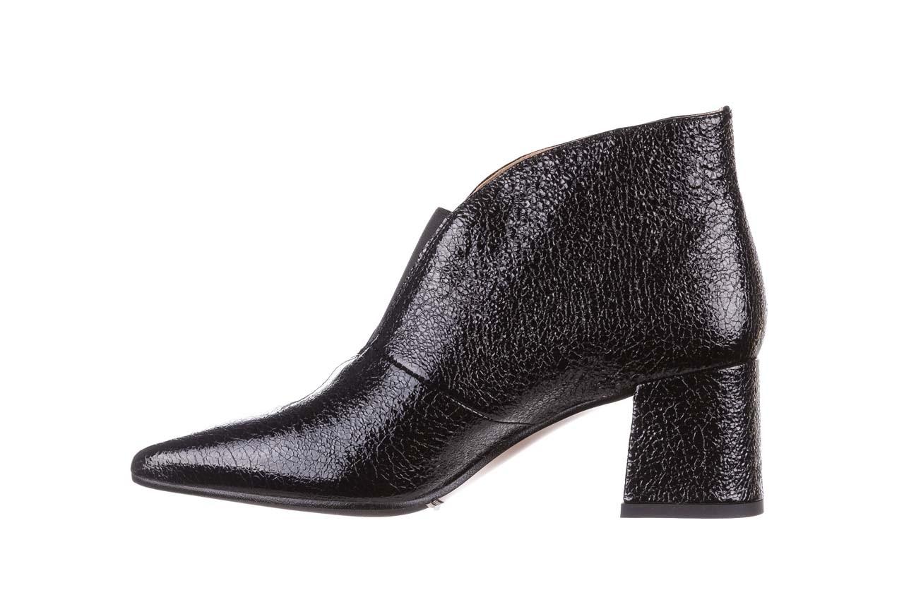 Botki bayla-188 031 czarny, skóra naturalna lakierowana - skórzane - botki - buty damskie - kobieta 12