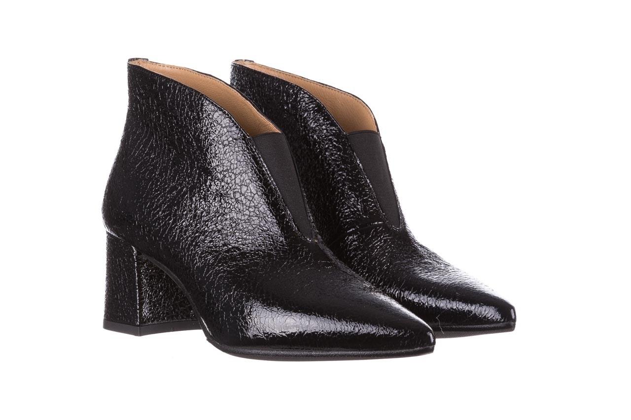Botki bayla-188 031 czarny, skóra naturalna lakierowana - skórzane - botki - buty damskie - kobieta 10