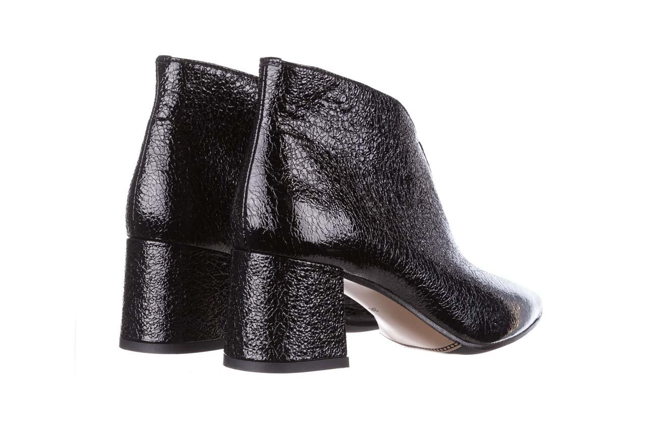 Botki bayla-188 031 czarny, skóra naturalna lakierowana - skórzane - botki - buty damskie - kobieta 13