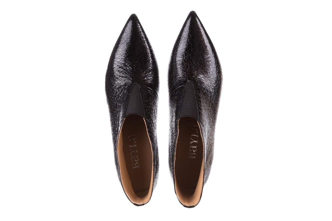 Botki bayla-188 031 czarny, skóra naturalna lakierowana - skórzane - botki - buty damskie - kobieta 14