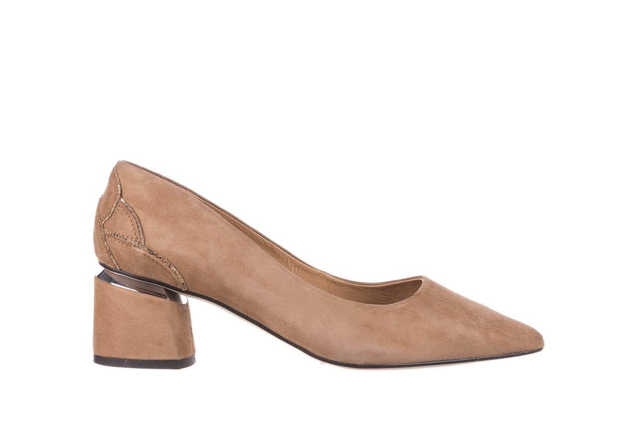 Czółenka bayla-188 030 beż, skóra naturalna - czółenka - buty damskie - kobieta 9