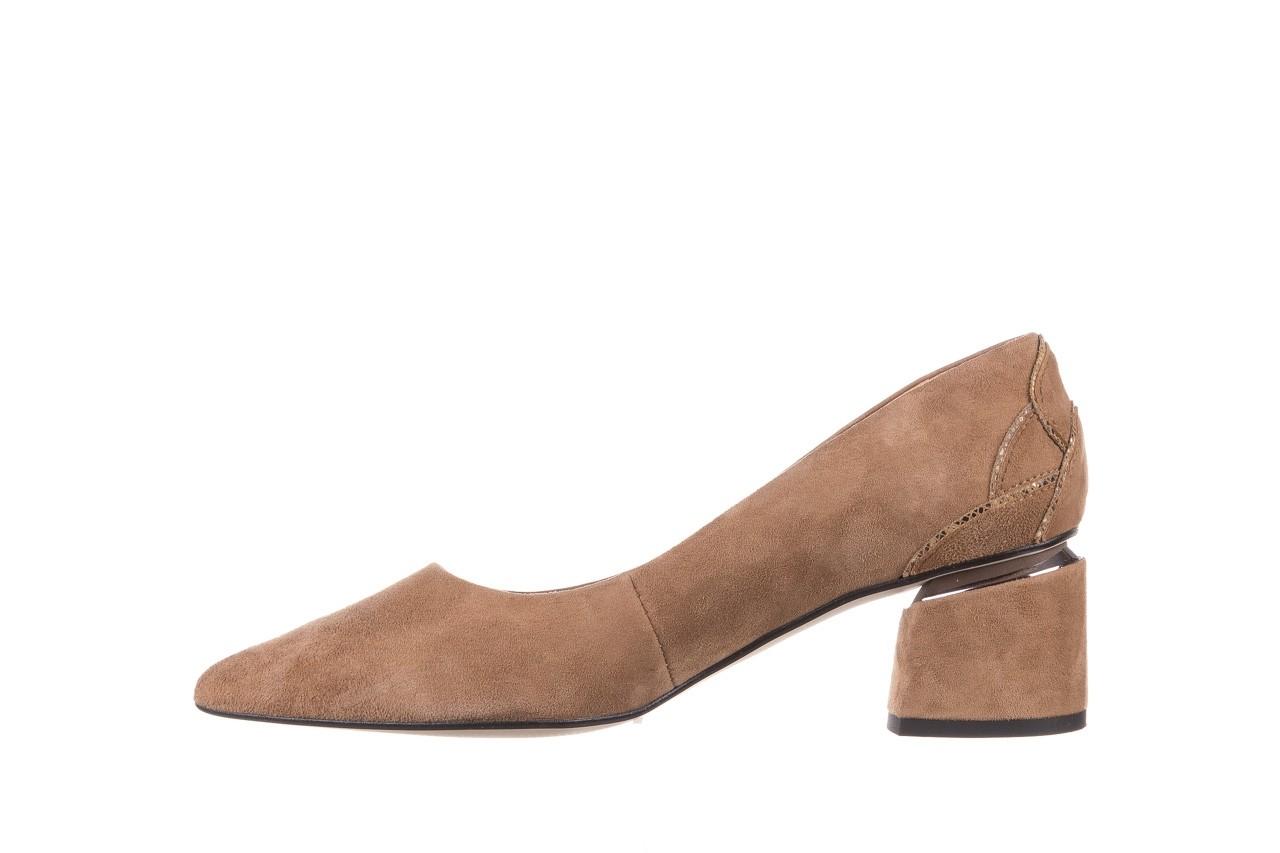 Czółenka bayla-188 030 beż, skóra naturalna - czółenka - buty damskie - kobieta 12