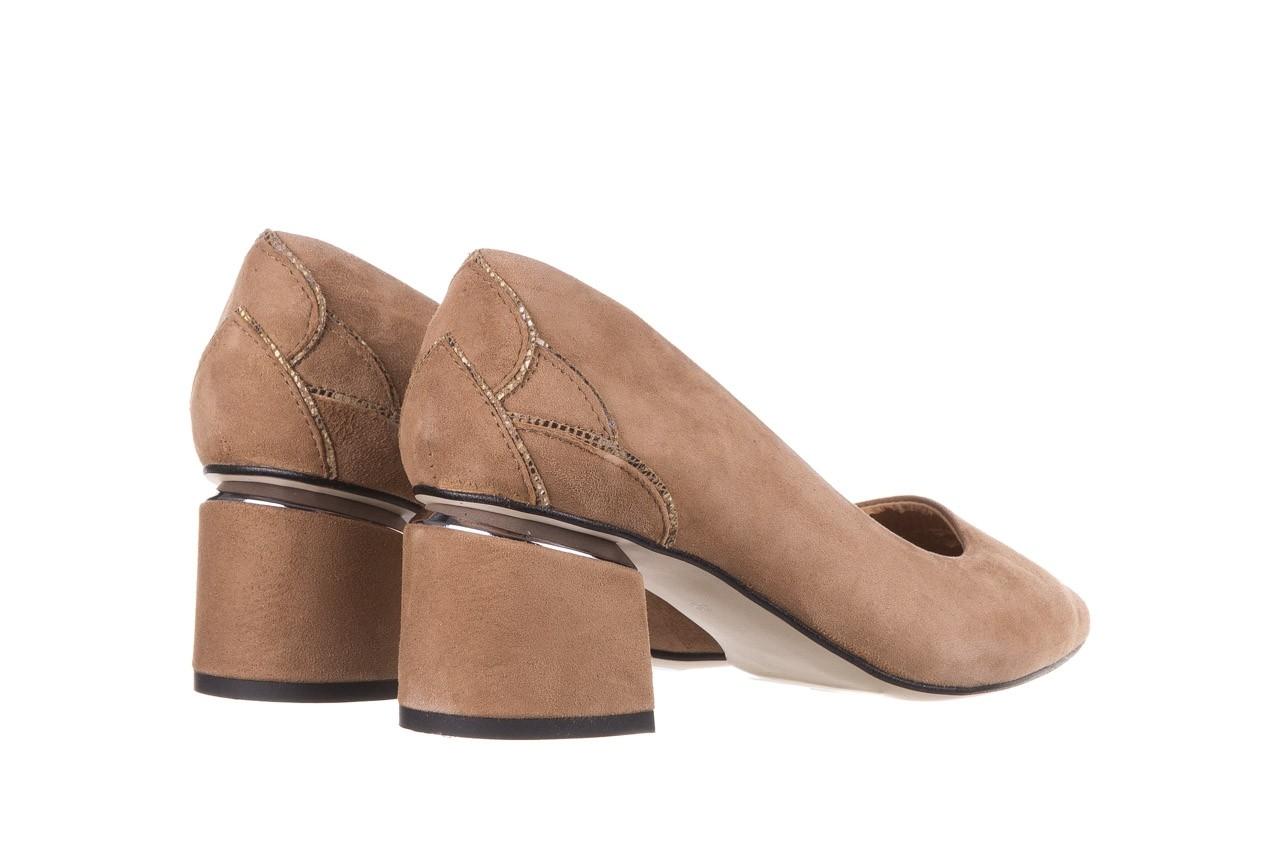 Czółenka bayla-188 030 beż, skóra naturalna - czółenka - buty damskie - kobieta 14