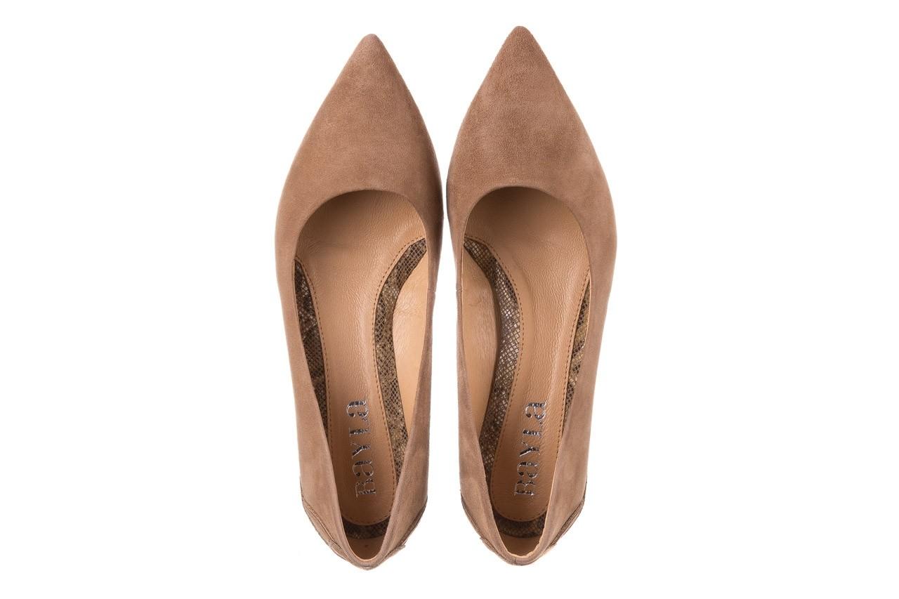 Czółenka bayla-188 030 beż, skóra naturalna - czółenka - buty damskie - kobieta 13