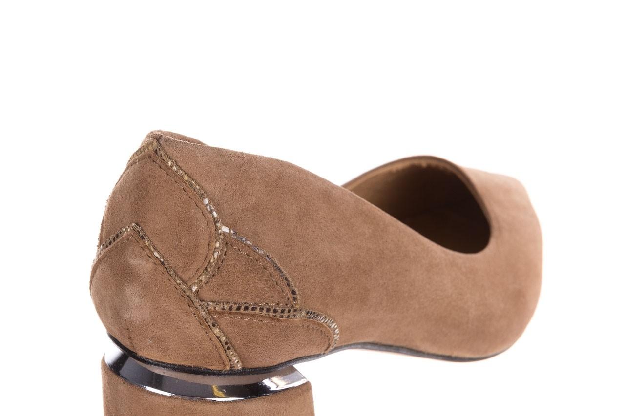Czółenka bayla-188 030 beż, skóra naturalna - czółenka - buty damskie - kobieta 15