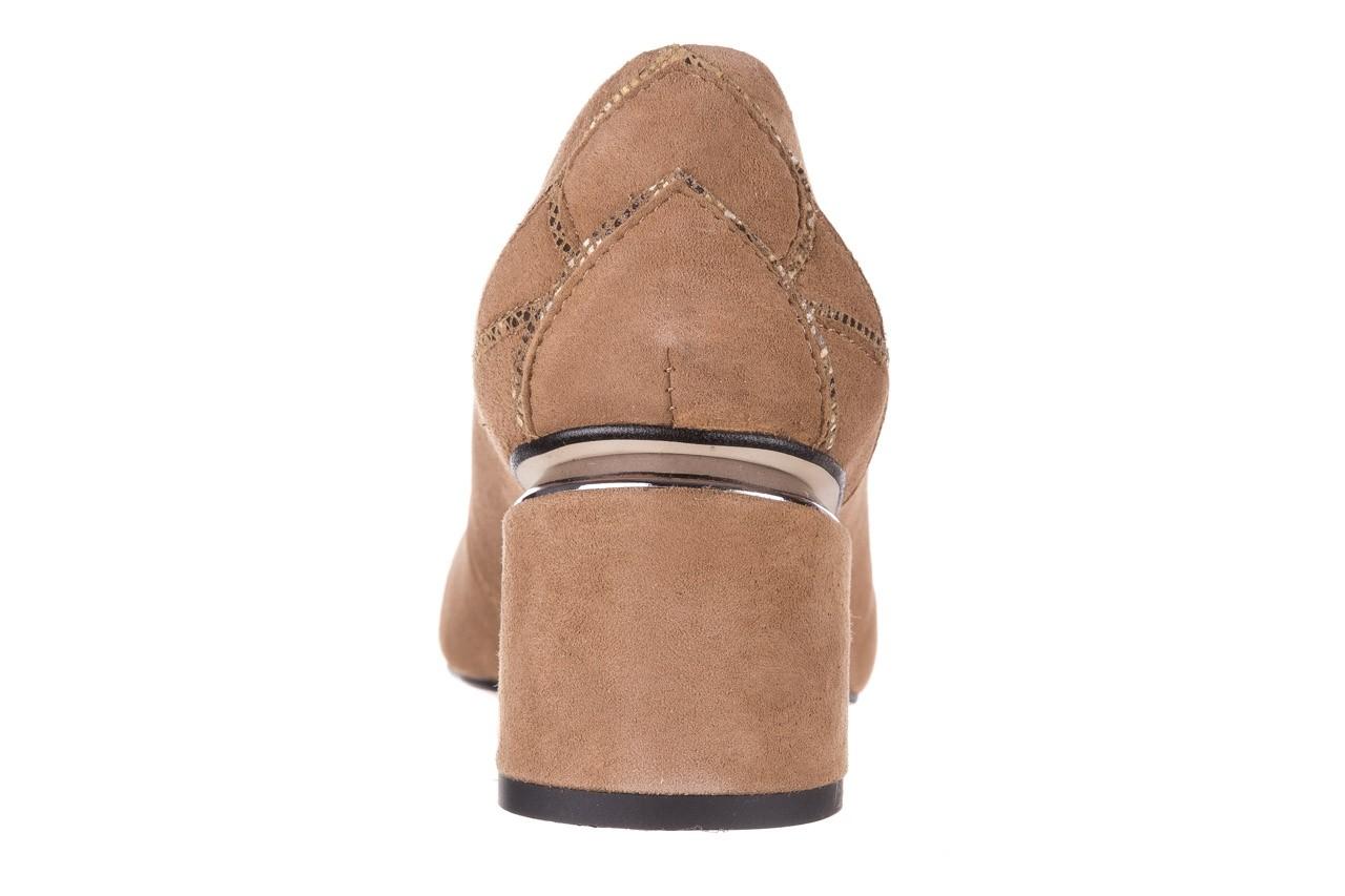 Czółenka bayla-188 030 beż, skóra naturalna - czółenka - buty damskie - kobieta 17
