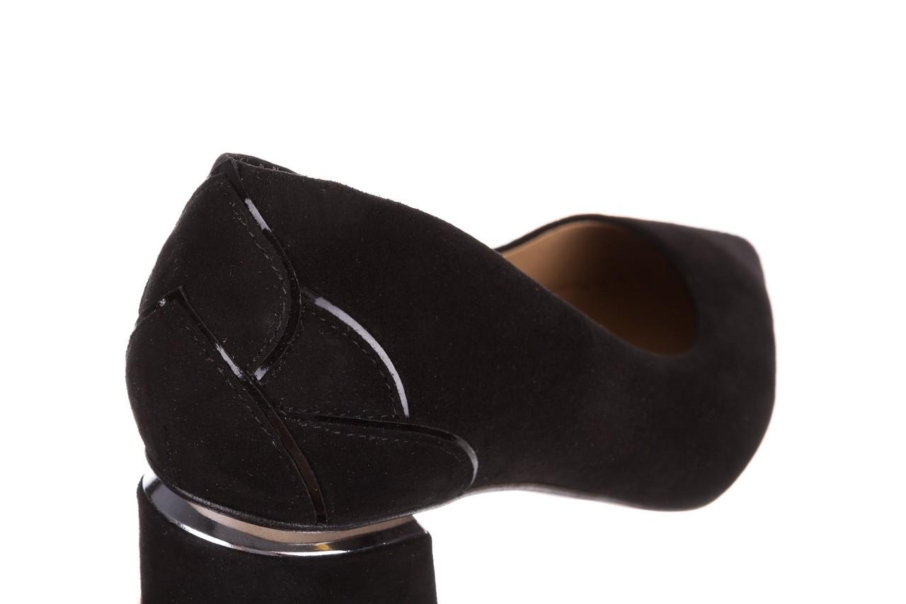 Czółenka bayla-188 030 czarny, skóra naturalna - czółenka i szpilki - dla niej  - sale 16