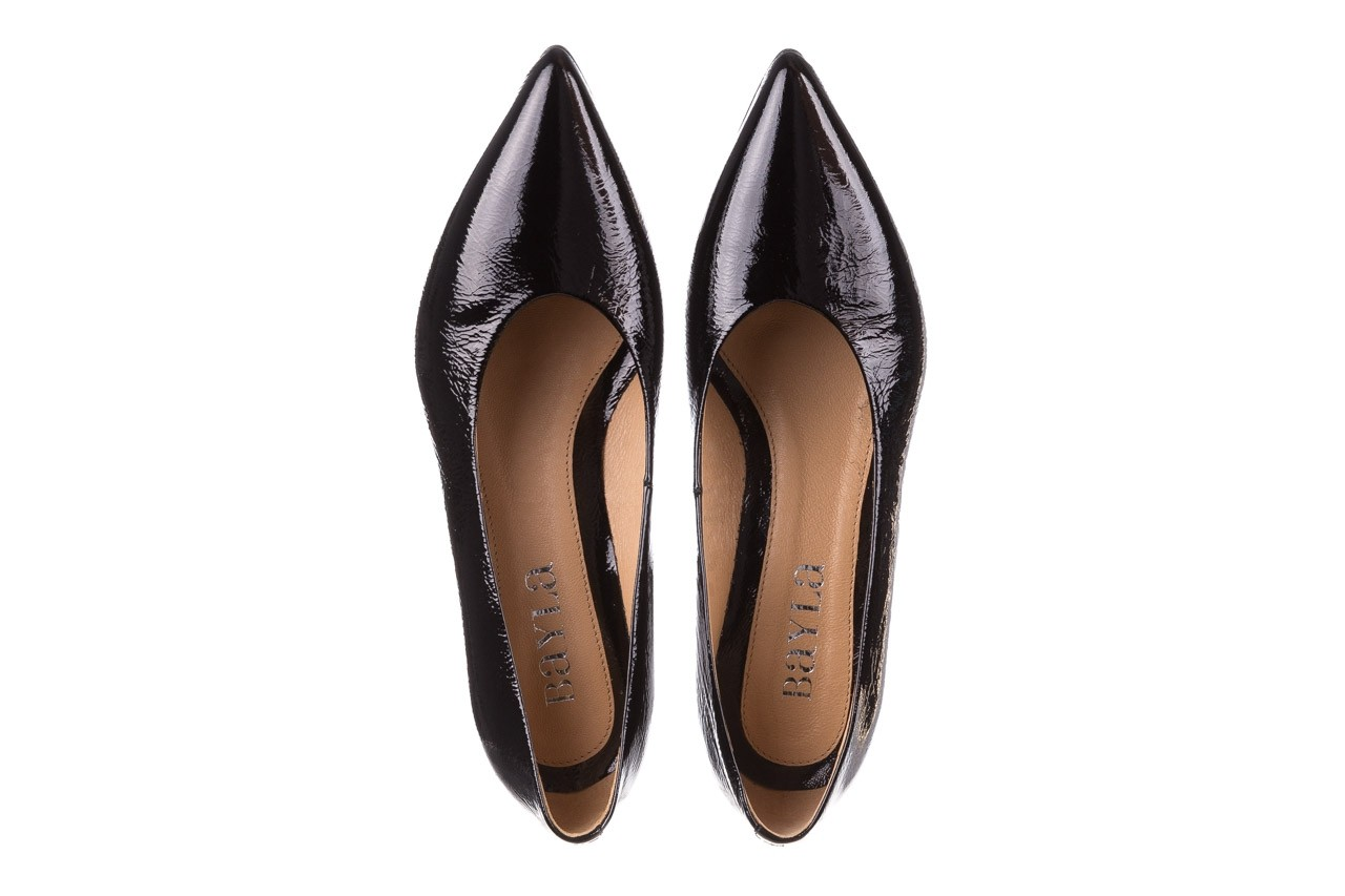 Czółenka bayla-188 029 czarny, skóra naturalna lakierowana - skórzane - czółenka - buty damskie - kobieta 14