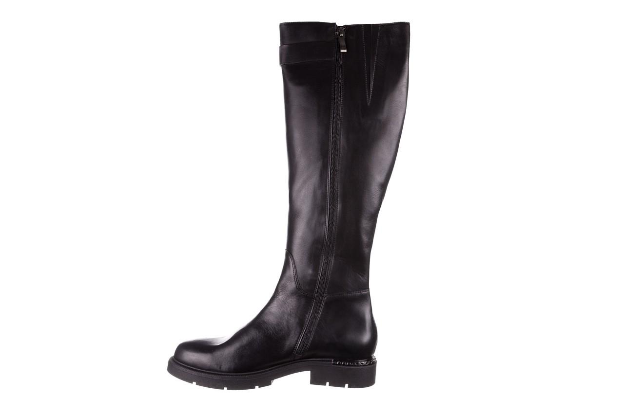 Kozaki bayla-188 020 czarny, skóra naturalna - płaskie - kozaki - buty damskie - kobieta 14