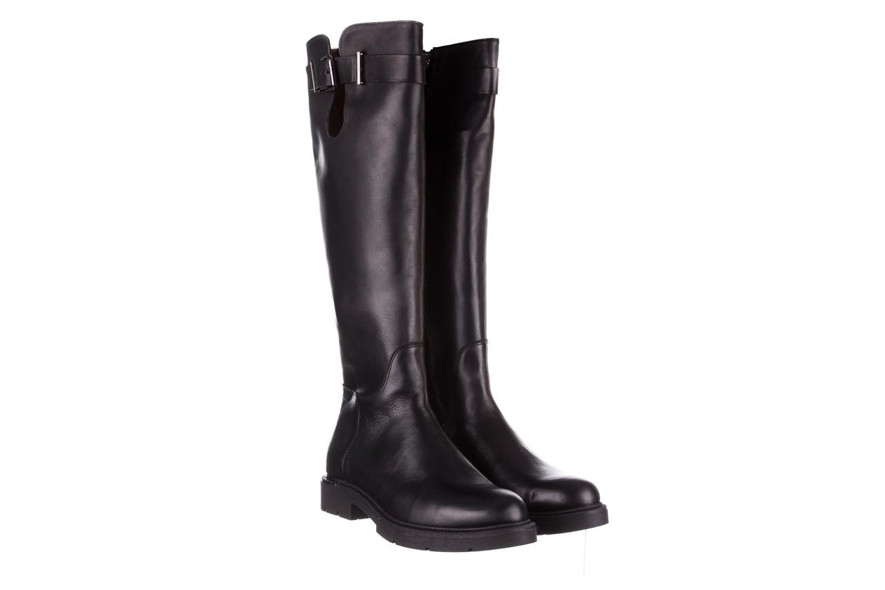 Kozaki bayla-188 020 czarny, skóra naturalna - płaskie - kozaki - buty damskie - kobieta 12