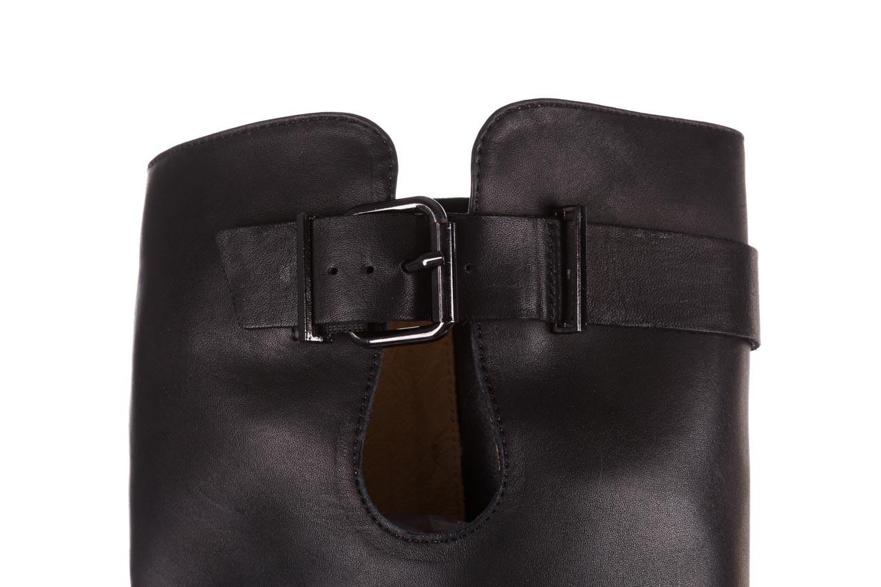 Kozaki bayla-188 020 czarny, skóra naturalna - płaskie - kozaki - buty damskie - kobieta 17