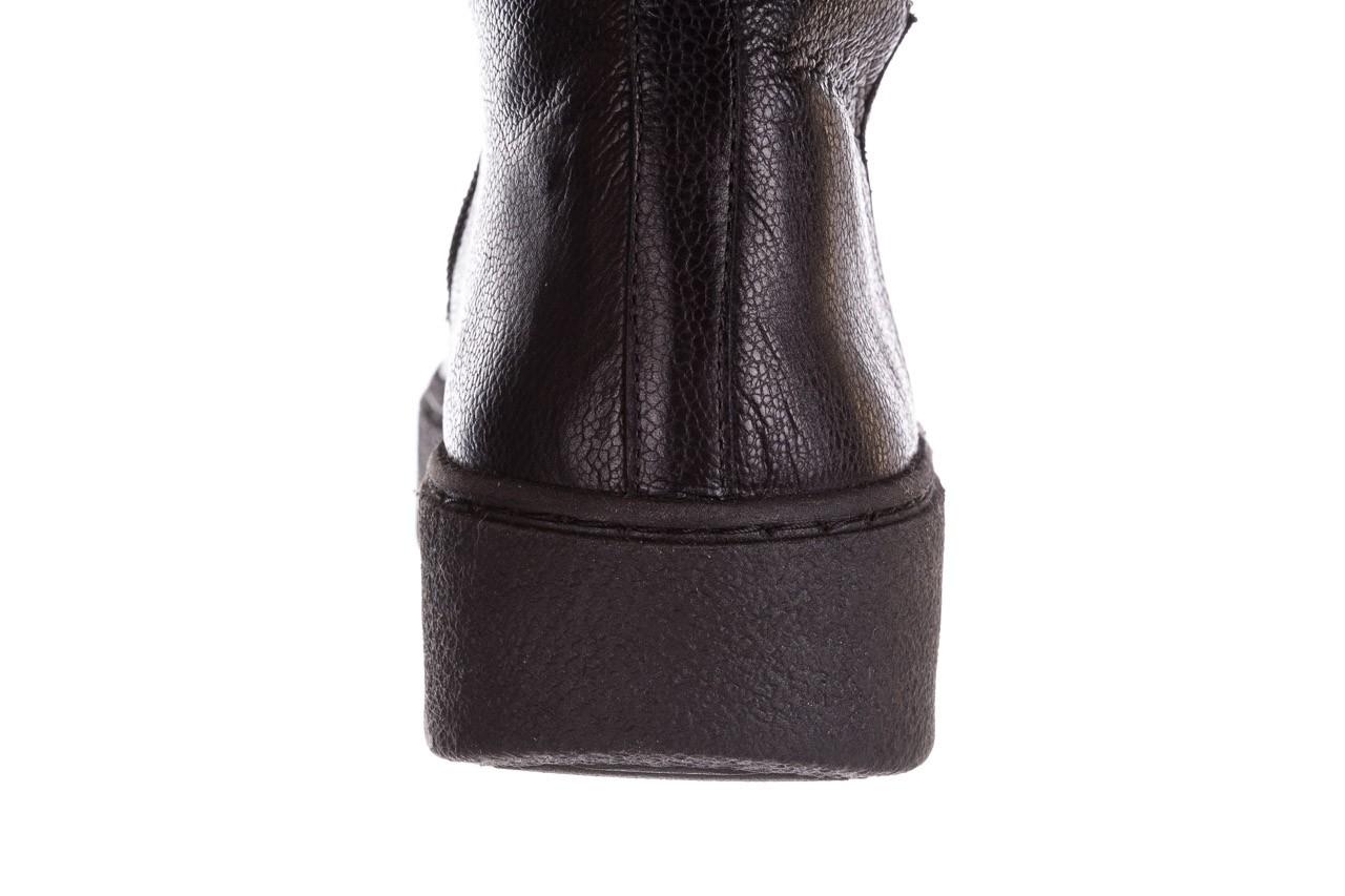 Kozaki bayla-188 027 czarny, skóra naturalna - kozaki - dla niej  - sale 21