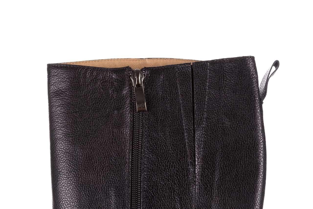 Kozaki bayla-188 027 czarny, skóra naturalna - kozaki - dla niej  - sale 16
