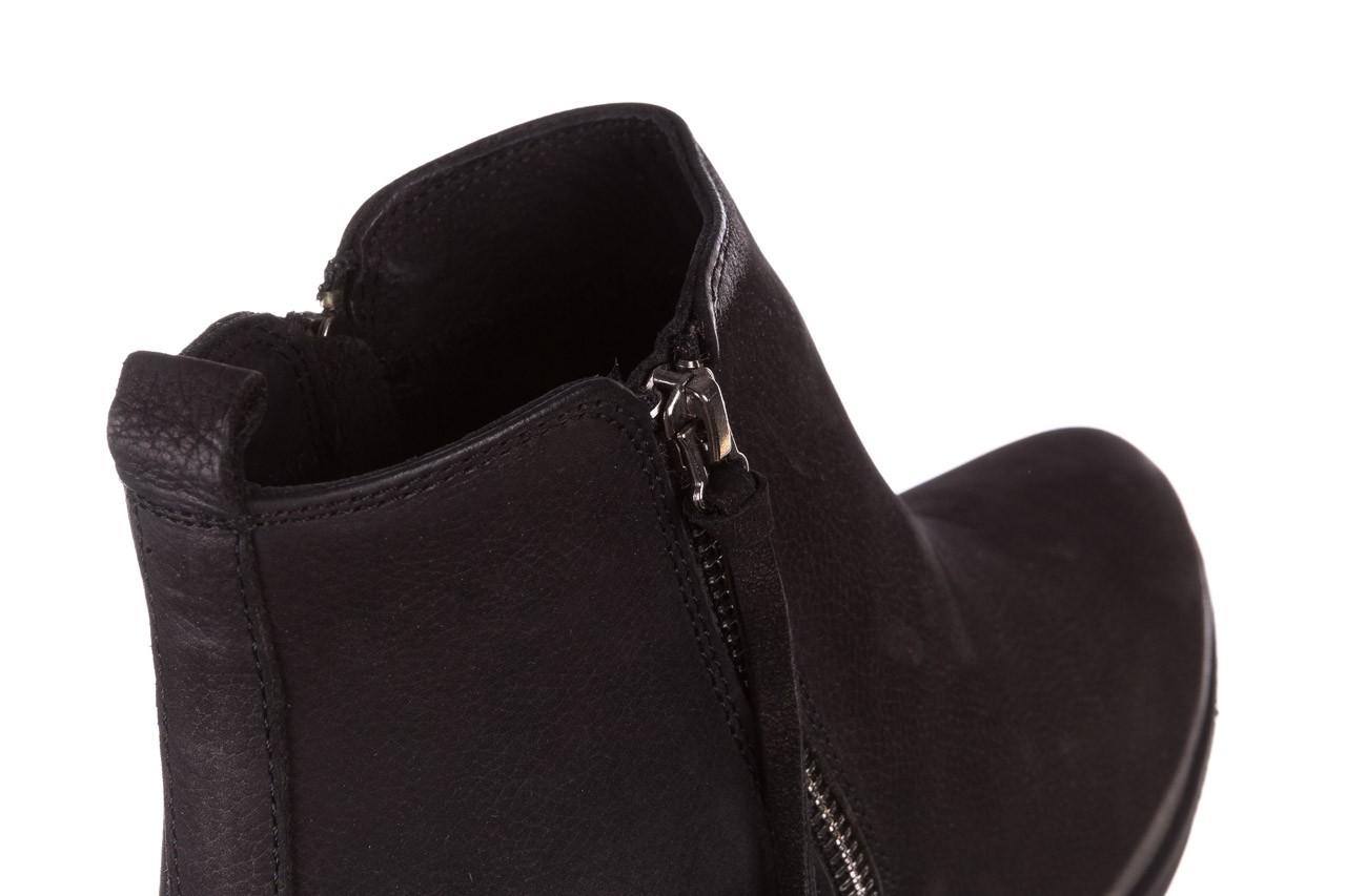 Botki bayla-161 077-30431 black nubuck, czarny, skóra naturalna  - bayla - nasze marki 17