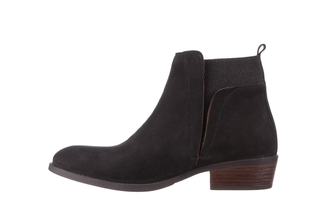Botki bayla-161 061-2004 black, czarny, skóra naturalna  - skórzane - botki - buty damskie - kobieta 13