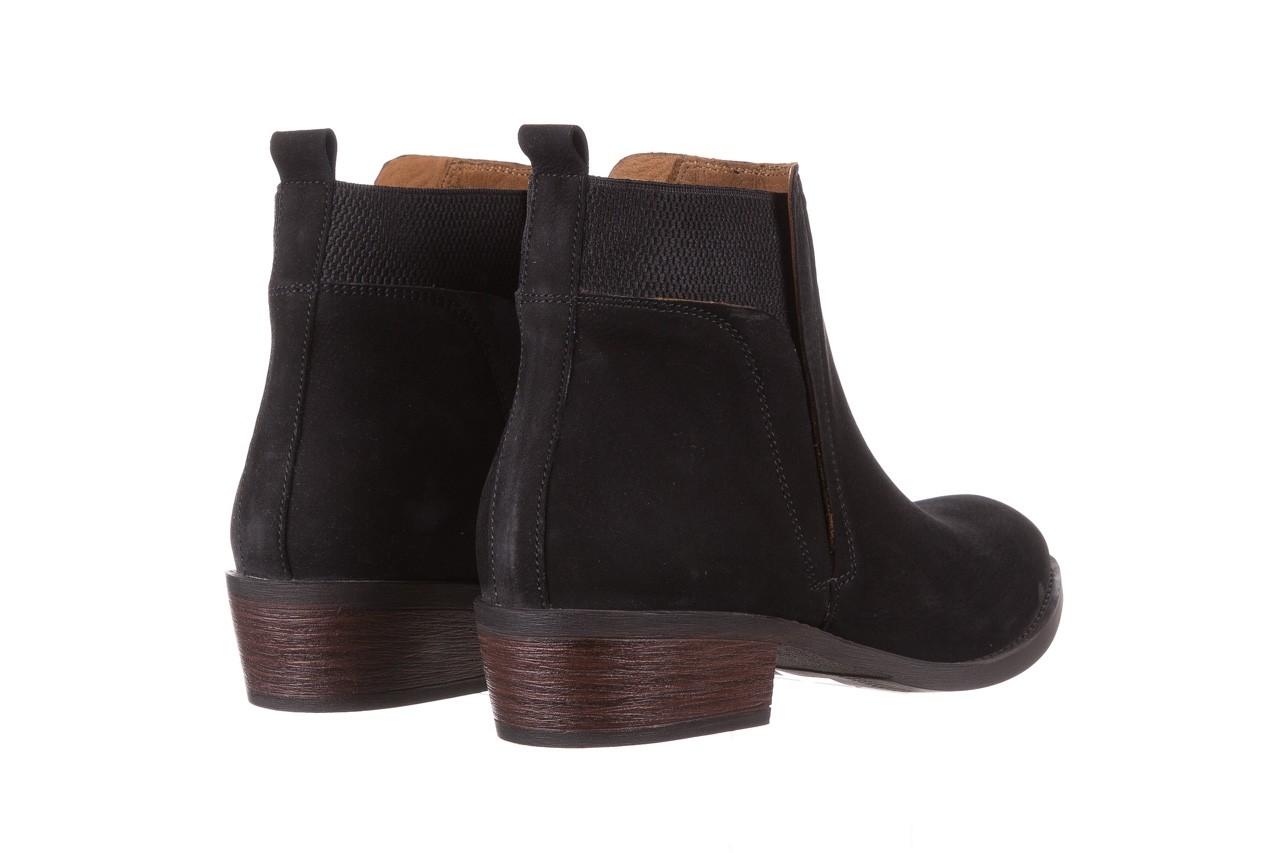 Botki bayla-161 061-2004 black, czarny, skóra naturalna  - skórzane - botki - buty damskie - kobieta 14