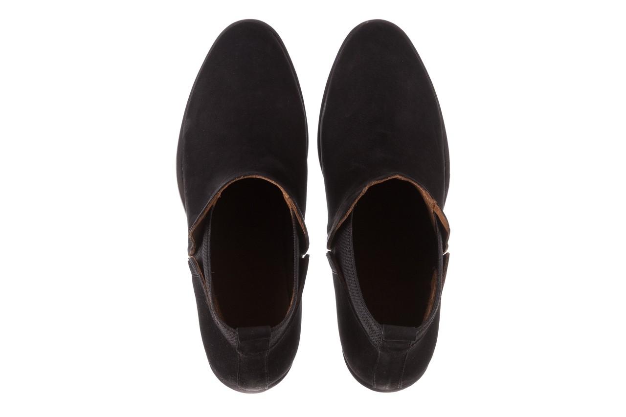 Botki bayla-161 061-2004 black, czarny, skóra naturalna  - skórzane - botki - buty damskie - kobieta 15