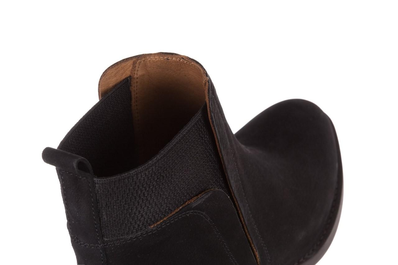 Botki bayla-161 061-2004 black, czarny, skóra naturalna  - skórzane - botki - buty damskie - kobieta 16