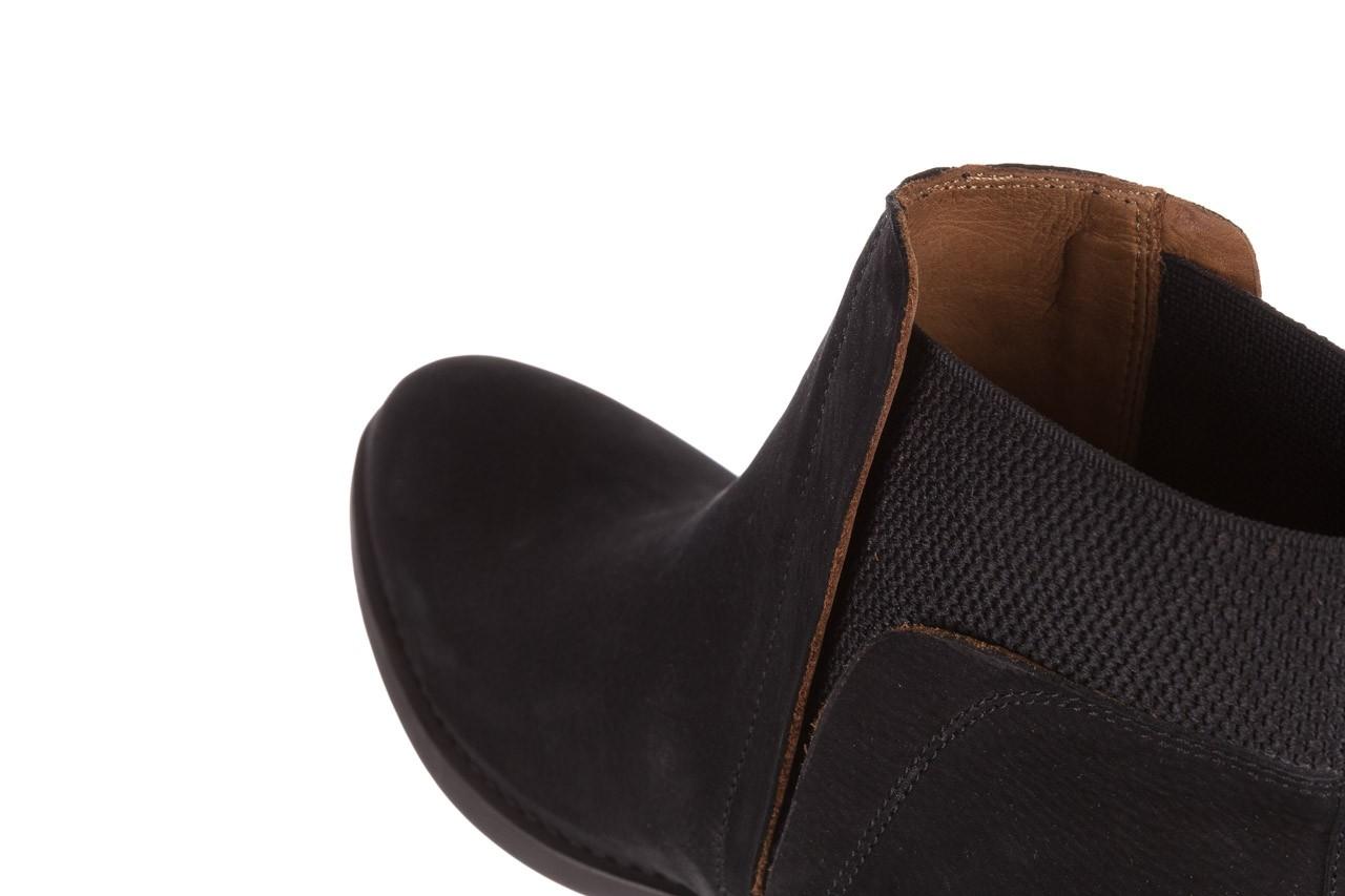 Botki bayla-161 061-2004 black, czarny, skóra naturalna  - skórzane - botki - buty damskie - kobieta 17