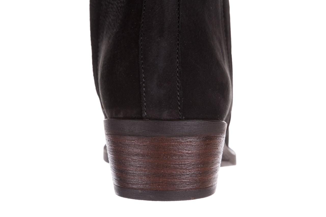 Botki bayla-161 061-2004 black, czarny, skóra naturalna  - skórzane - botki - buty damskie - kobieta 18