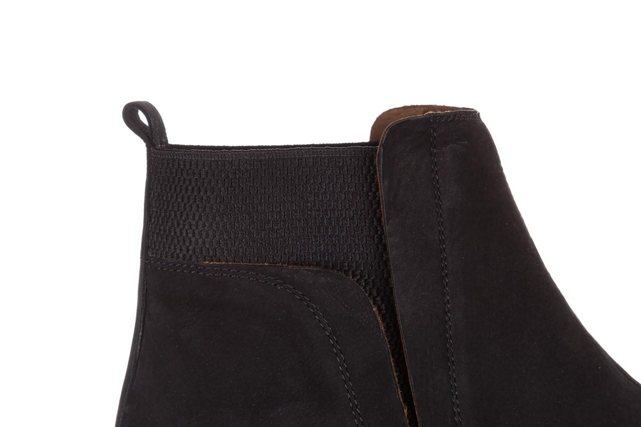 Botki bayla-161 061-2004 black, czarny, skóra naturalna  - skórzane - botki - buty damskie - kobieta 19