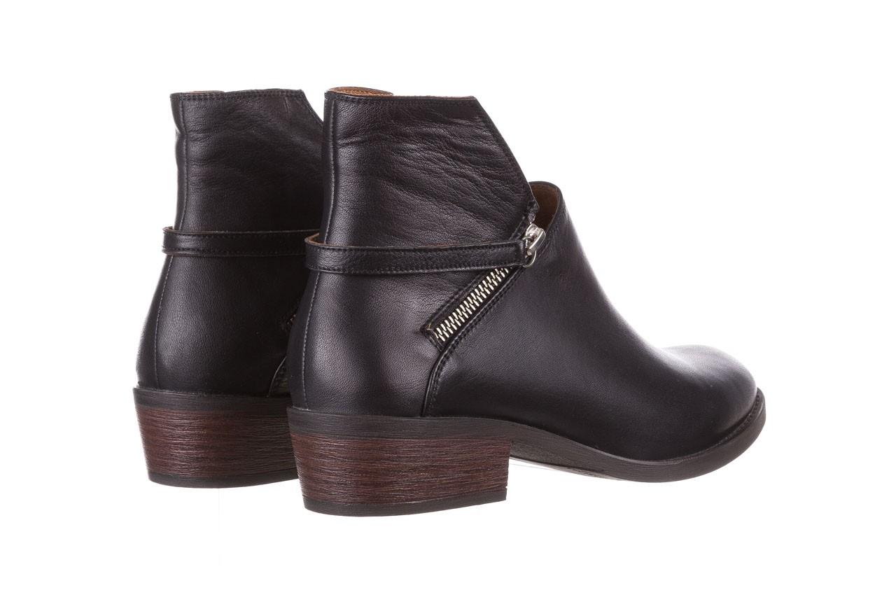 Botki bayla-161 061-2005 black, czarny, skóra naturalna  - skórzane - botki - buty damskie - kobieta 13