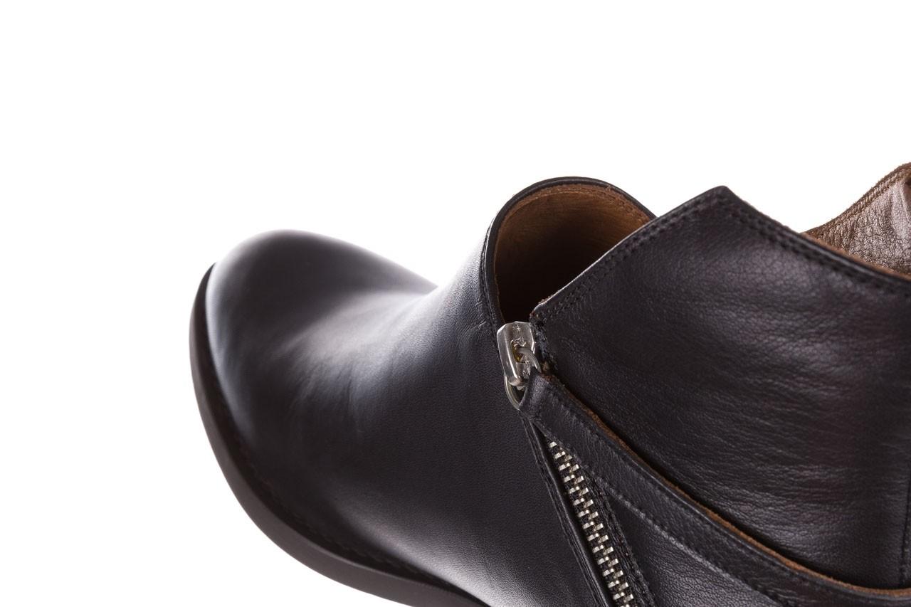 Botki bayla-161 061-2005 black, czarny, skóra naturalna  - skórzane - botki - buty damskie - kobieta 16