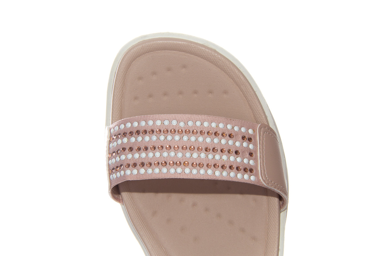 Sandały azaleia 330 561 tan, beż, skóra ekologiczna  - płaskie - sandały - buty damskie - kobieta 13