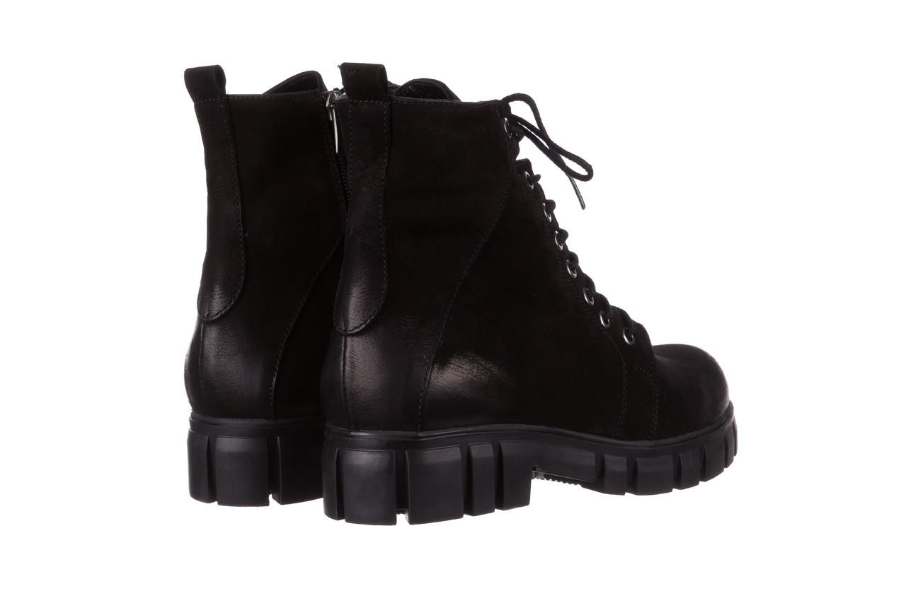 Trzewiki bayla-161 068-8675 black, czarny, skóra naturalna  - trzewiki - buty damskie - kobieta 13