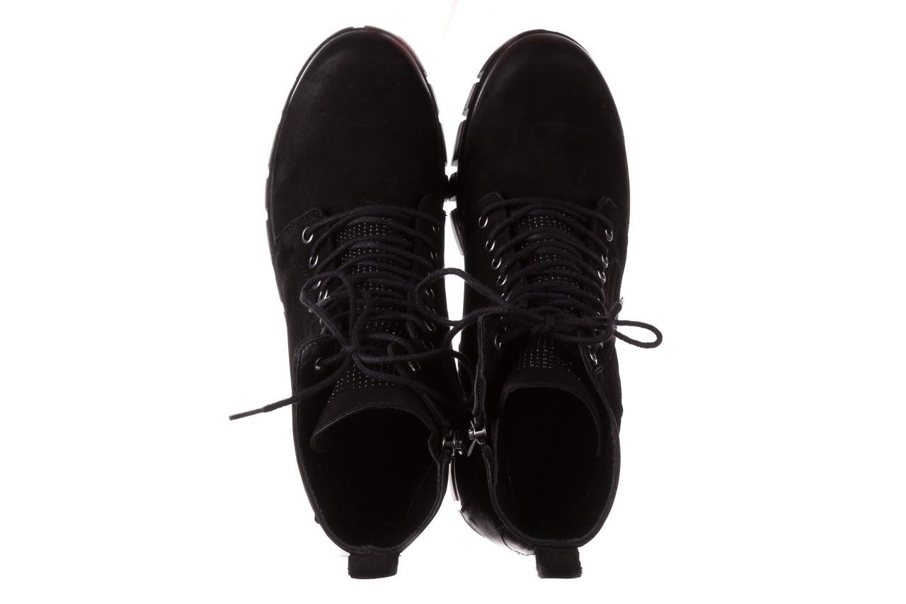 Trzewiki bayla-161 068-8675 black, czarny, skóra naturalna  - trzewiki - buty damskie - kobieta 14