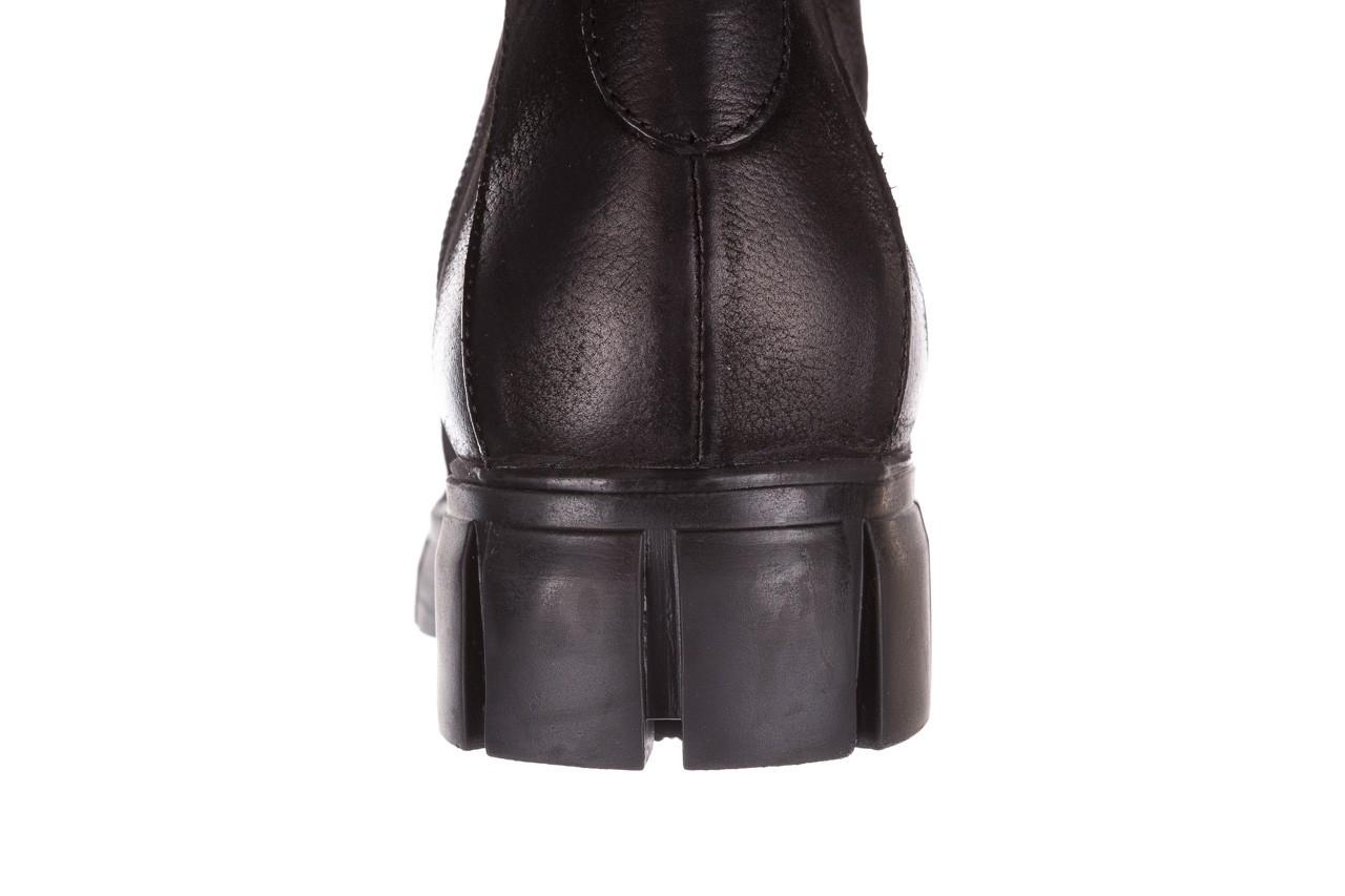 Trzewiki bayla-161 068-8675 black, czarny, skóra naturalna  - trzewiki - buty damskie - kobieta 17