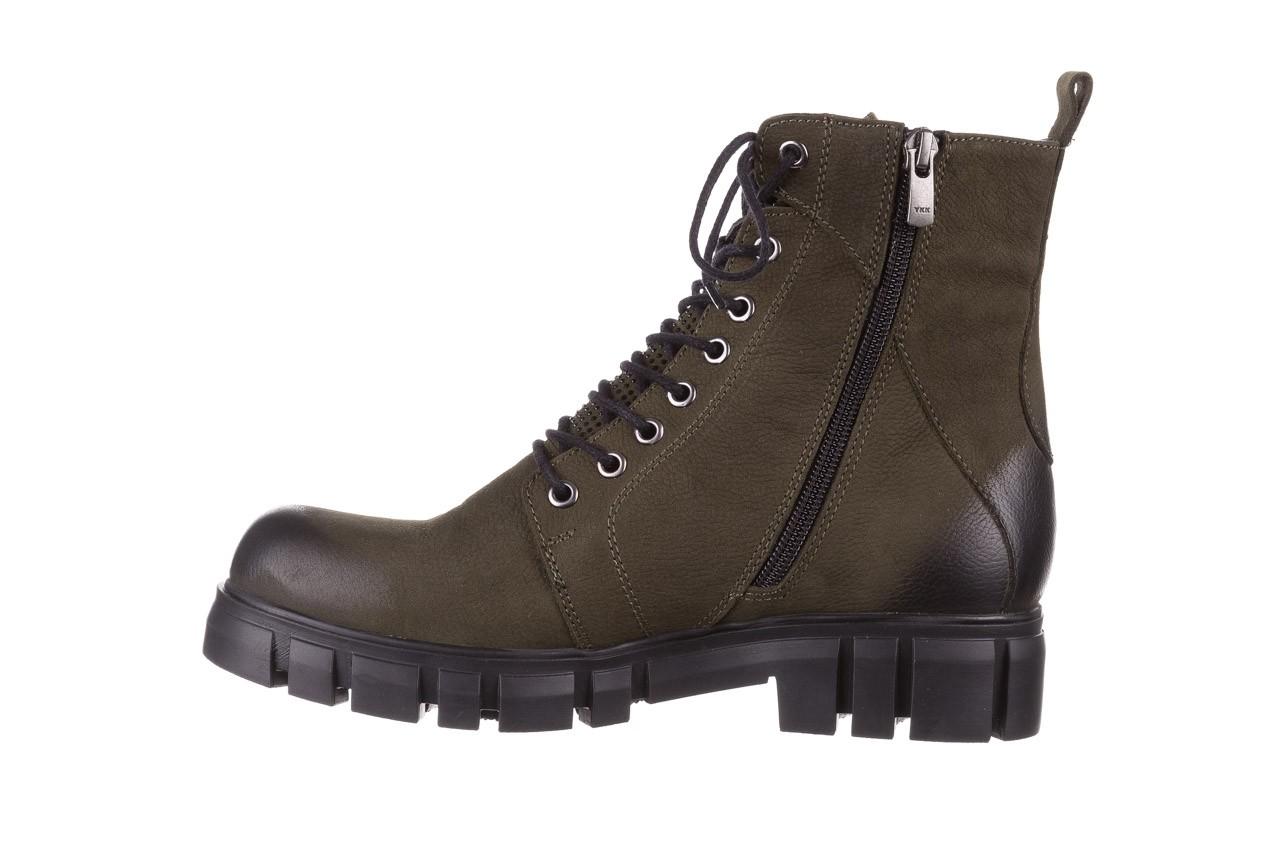 Trzewiki bayla-161 068-8675 khaki, zielony, skóra naturalna  - trzewiki - buty damskie - kobieta 14