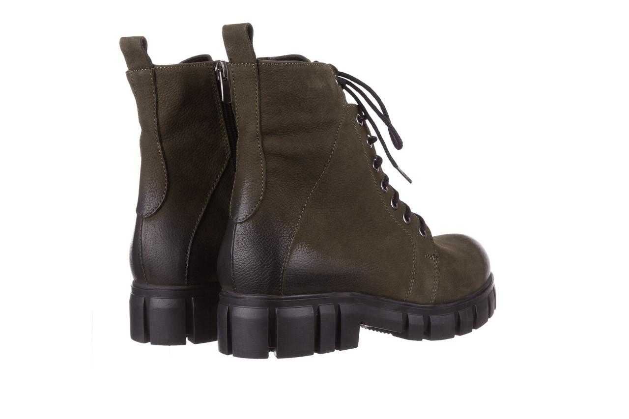 Trzewiki bayla-161 068-8675 khaki, zielony, skóra naturalna  - trzewiki - buty damskie - kobieta 15