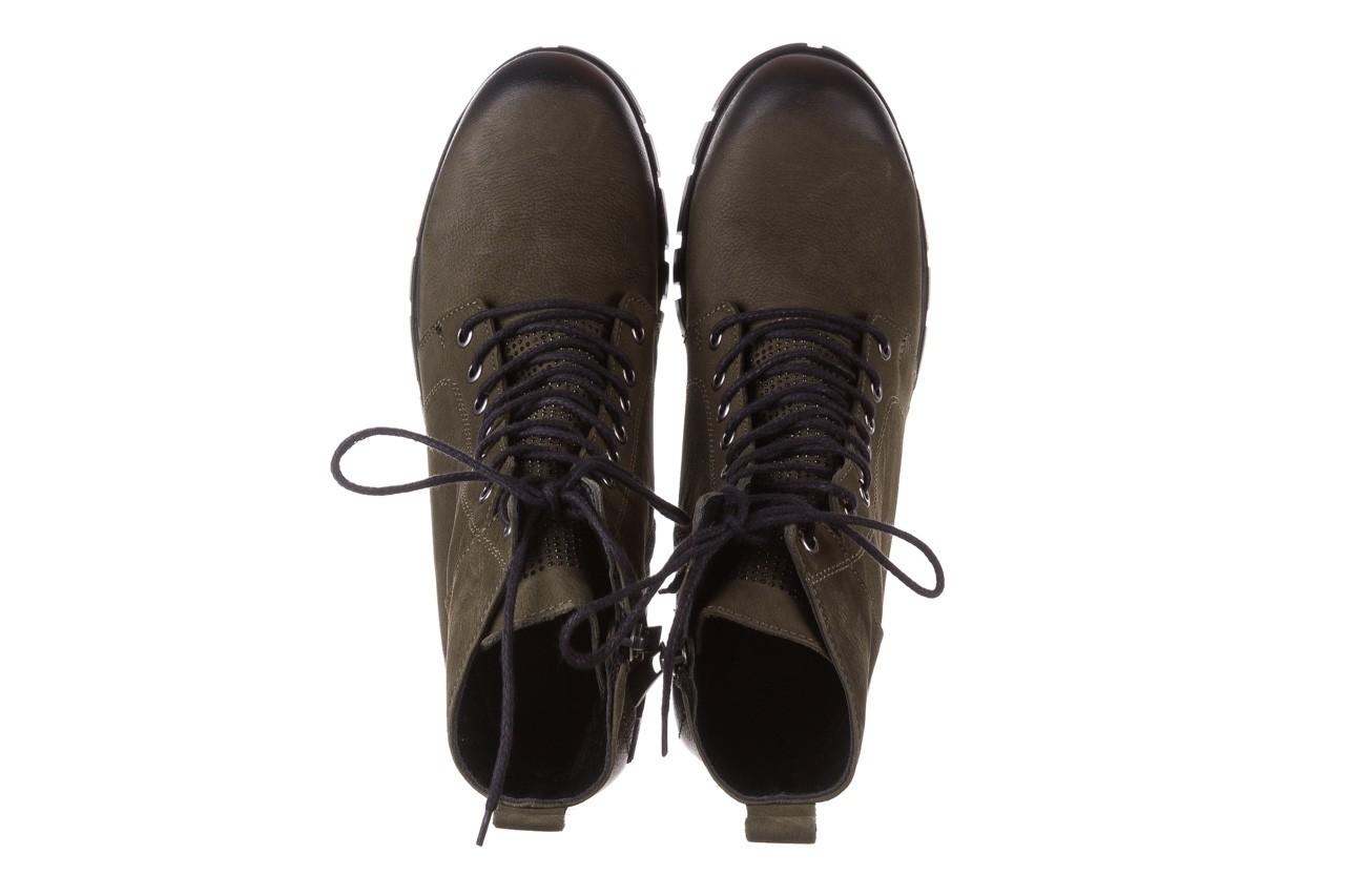 Trzewiki bayla-161 068-8675 khaki, zielony, skóra naturalna  - trzewiki - buty damskie - kobieta 16