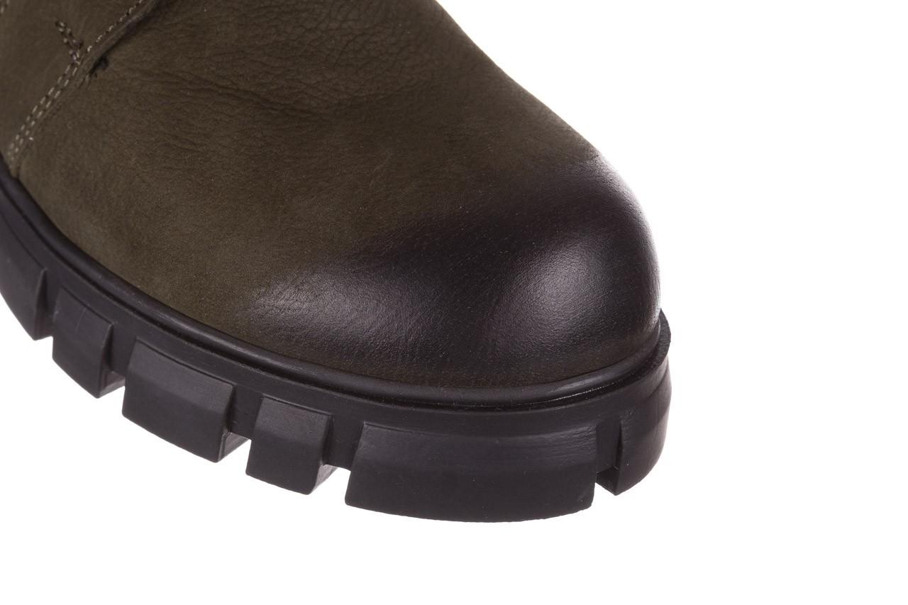 Trzewiki bayla-161 068-8675 khaki, zielony, skóra naturalna  - trzewiki - buty damskie - kobieta 17