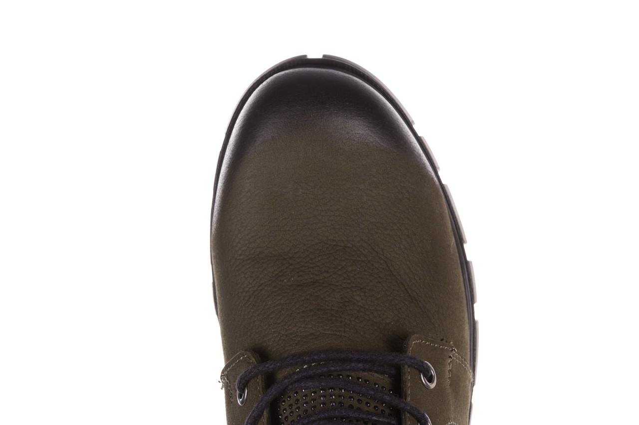 Trzewiki bayla-161 068-8675 khaki, zielony, skóra naturalna  - trzewiki - buty damskie - kobieta 18