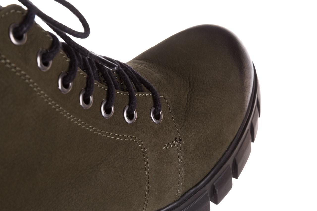 Trzewiki bayla-161 068-8675 khaki, zielony, skóra naturalna  - trzewiki - buty damskie - kobieta 19