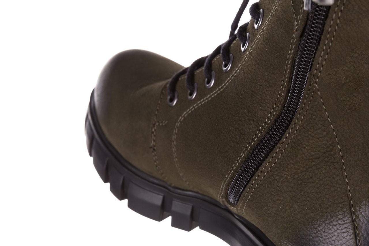 Trzewiki bayla-161 068-8675 khaki, zielony, skóra naturalna  - trzewiki - buty damskie - kobieta 20