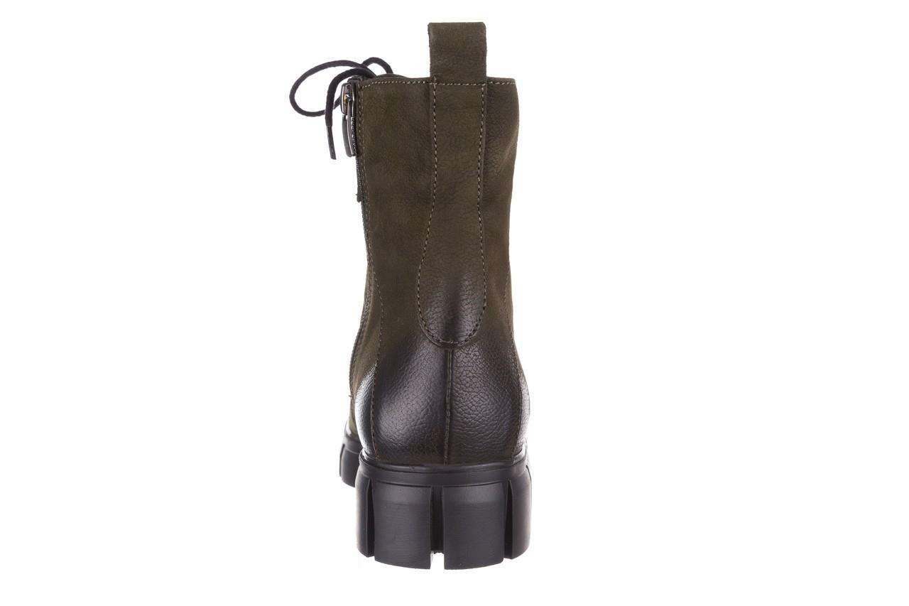 Trzewiki bayla-161 068-8675 khaki, zielony, skóra naturalna  - trzewiki - buty damskie - kobieta 21