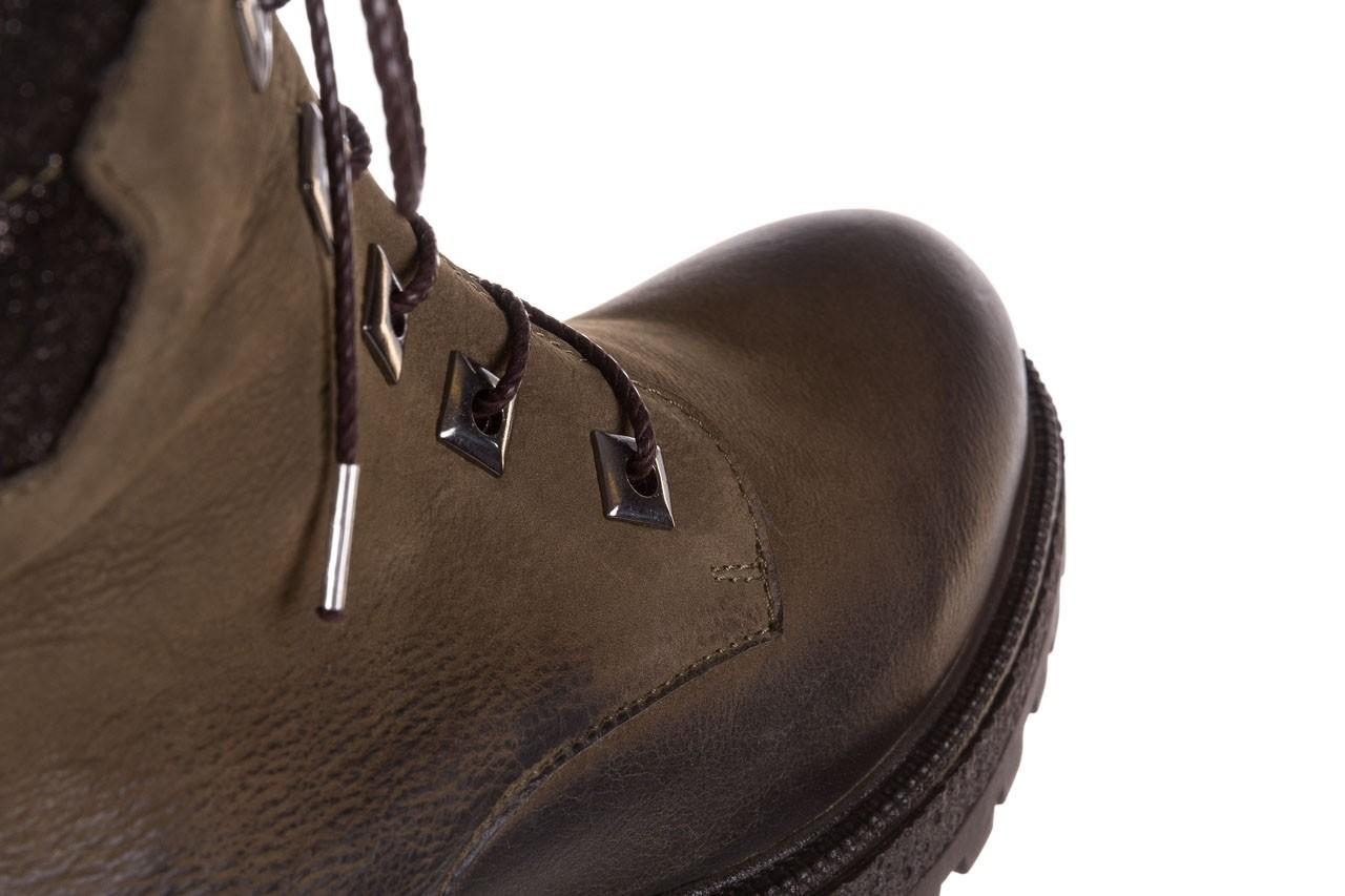 Trzewiki bayla-161 050-0507 khaki, zielony, skóra naturalna  - trzewiki - buty damskie - kobieta 18