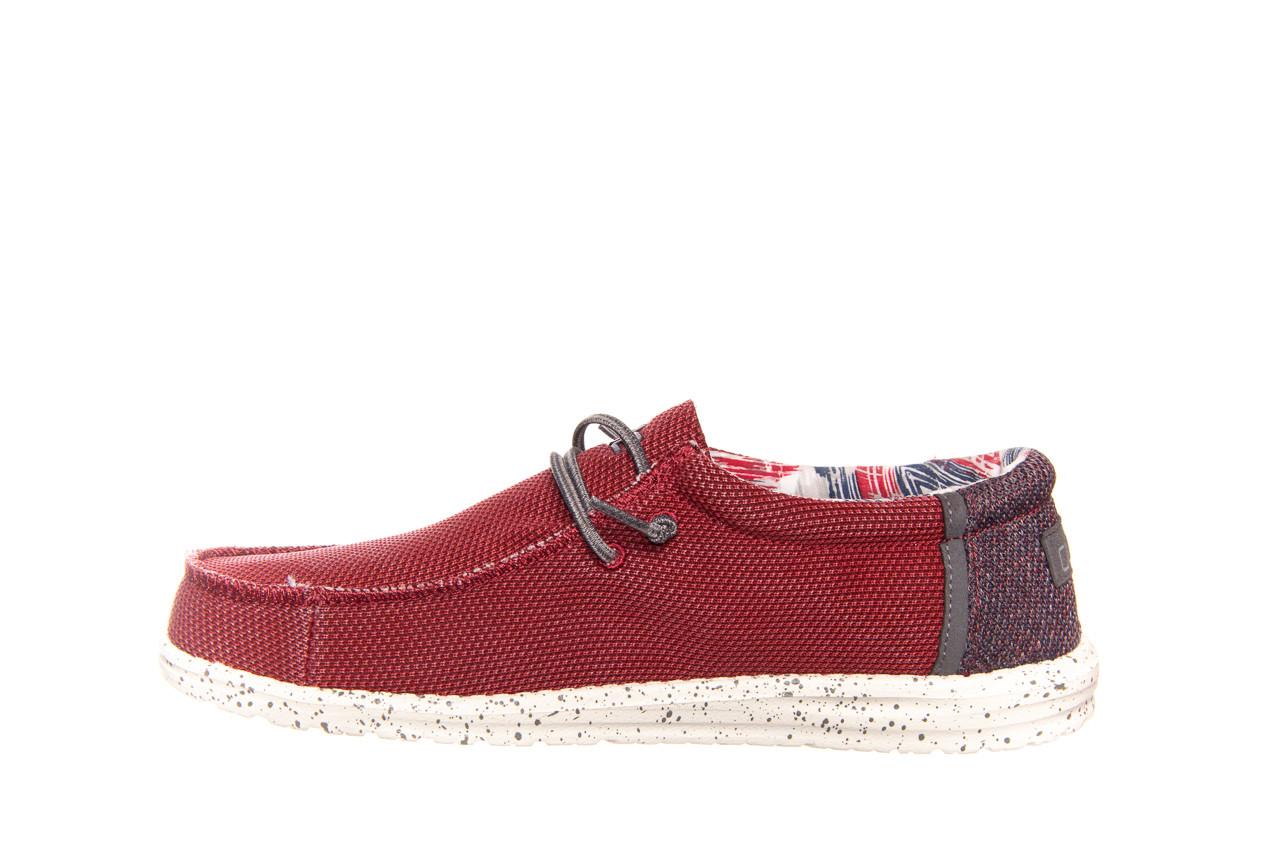 Półbuty heydude wally kite red 003185, czerwony, materiał - heydude - nasze marki 8