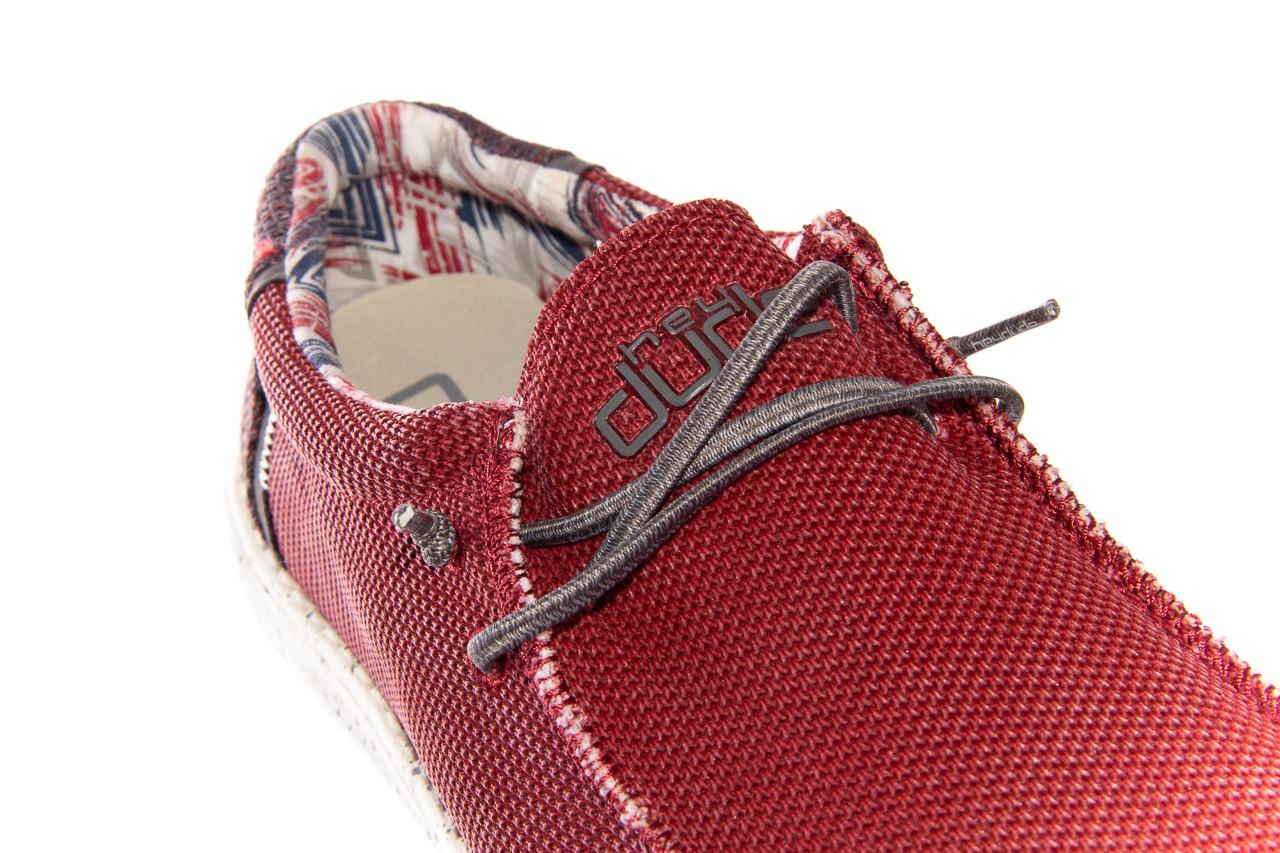 Półbuty heydude wally kite red 003185, czerwony, materiał - heydude - nasze marki 11